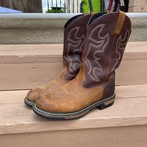 Rocky Steel Toe Boots